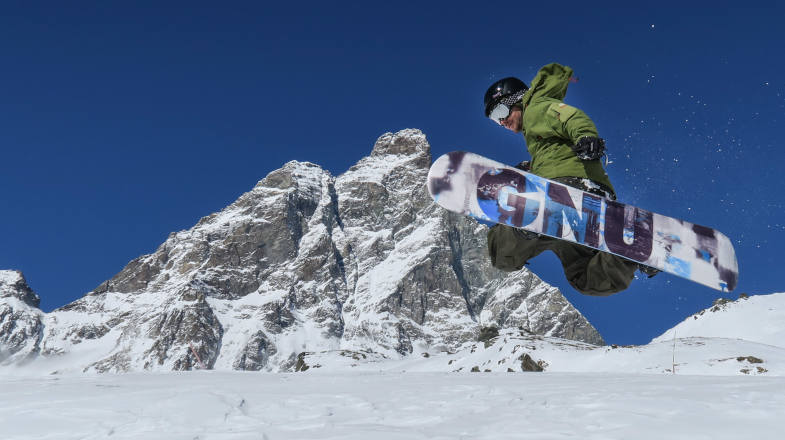 Evolutions on the Indian Snowboard Park