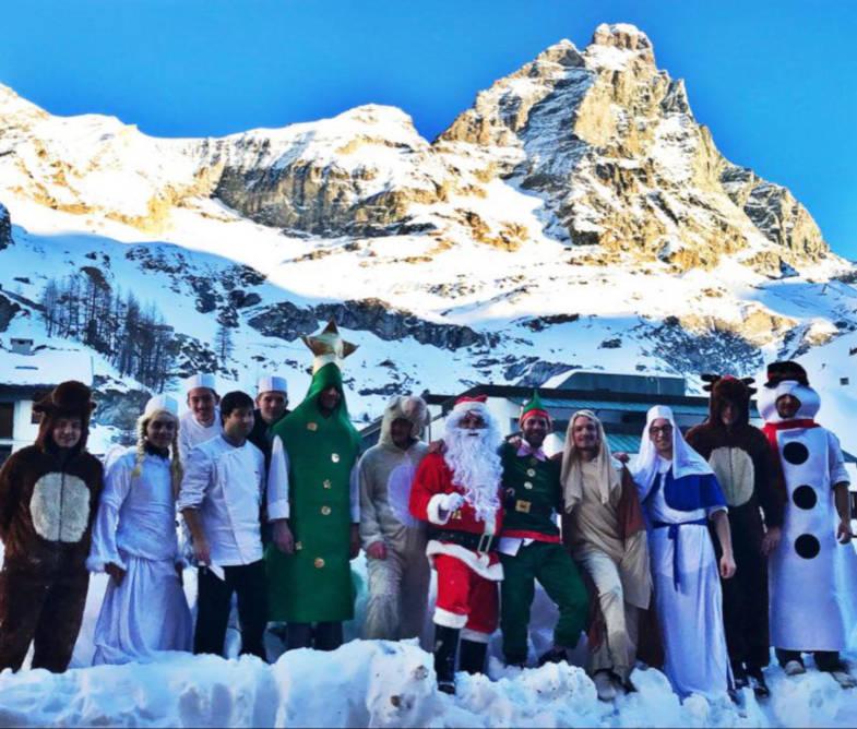 Buon Natale da Cervinia