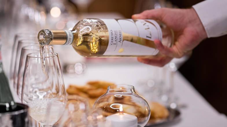 Arneis Piemontese, Wine tasting a Cervinia