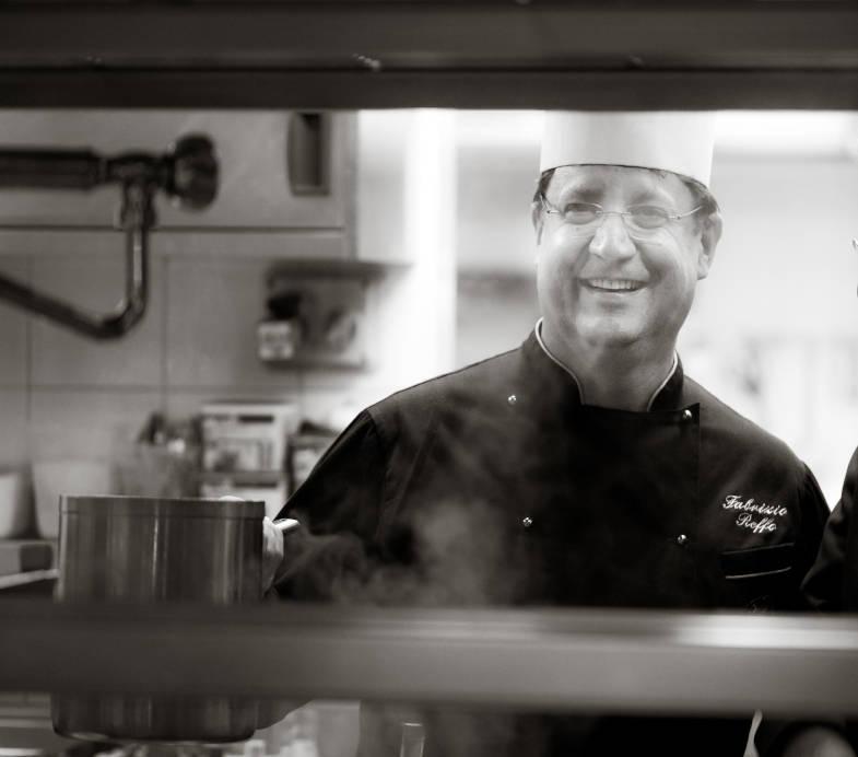 Fabrizio Reffo, chef all'Excelsior Planet di Cervinia